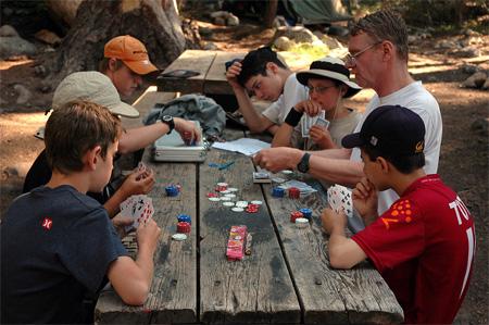 Poker summer camp